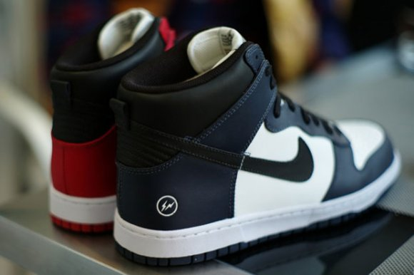 fragment design x Nike Dunk Hi