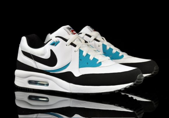 Nike Air Max Light White/Black-Glass Blue