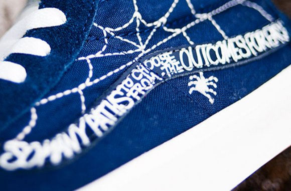 WTAPS x Vans Syndicate Sk8 Mid Spider Collection