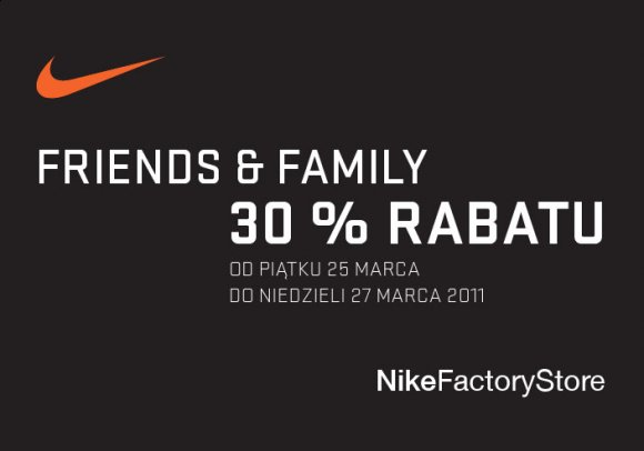 NikeFactoryStore - Friends & Family