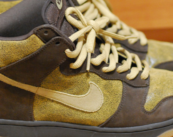 Nike SB Dunk High Destressed (Sample)