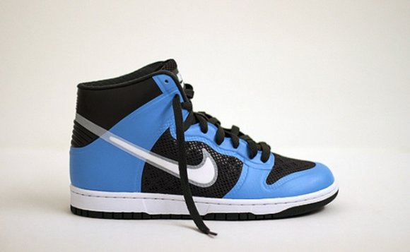 Nike Dunk High Hyperfuse Black/Royal