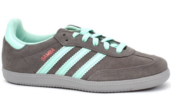 adidas Originals Samba W - Grey/Sea Green