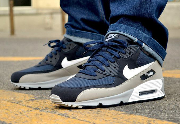 Air Max 90 Essential ObsidianWolf Grey | Nike shoes, Nike