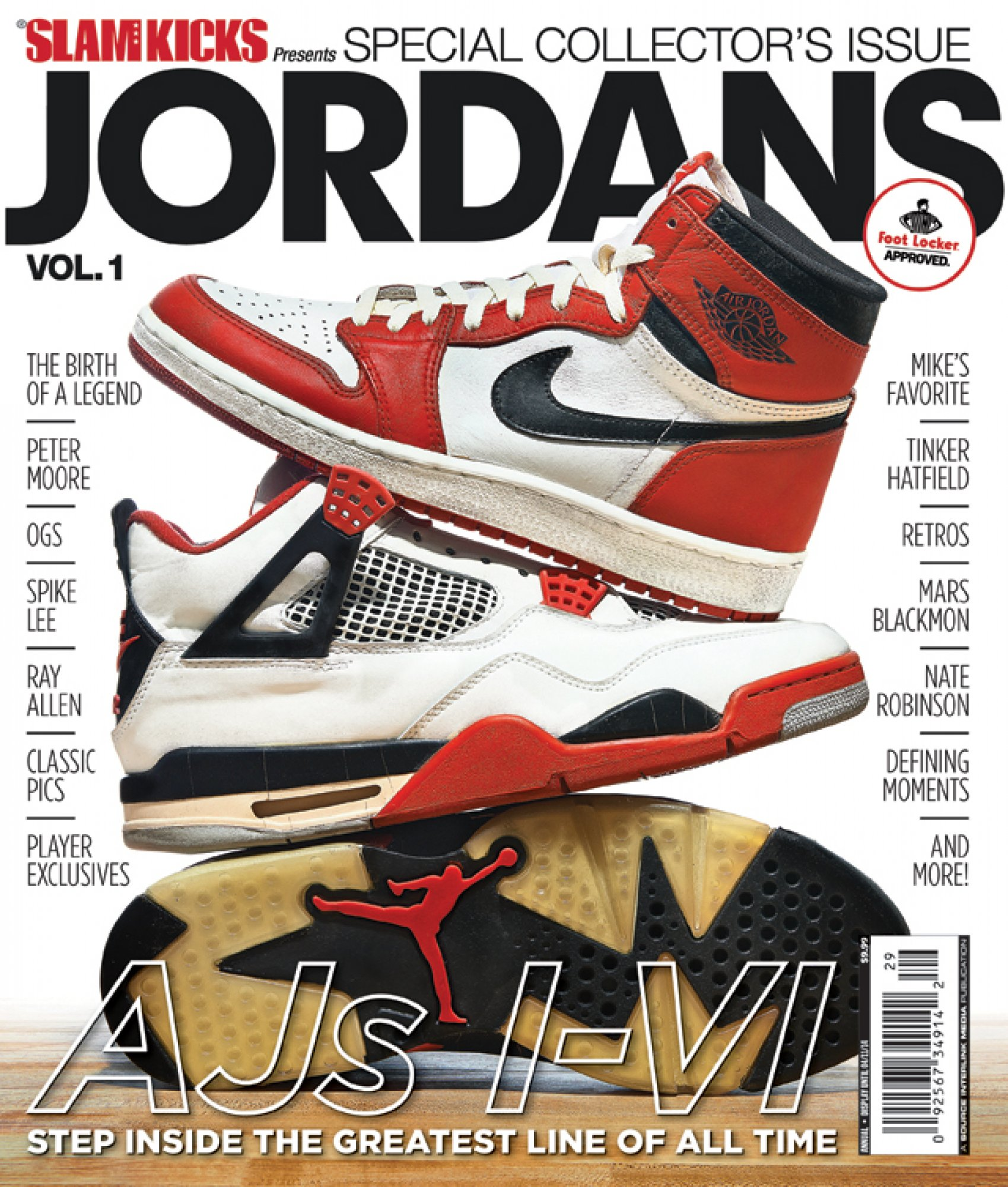 Slam Kicks presents JORDANS Vol 1