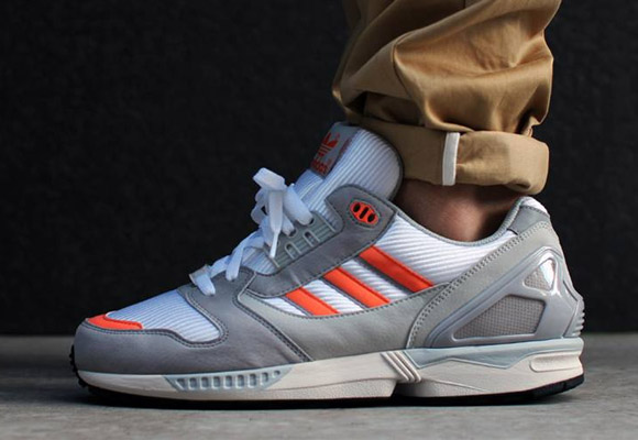reputable site 7e59b 2f23d adidas ZX 8000 - White DownSt Tropic MelonPearl Grey