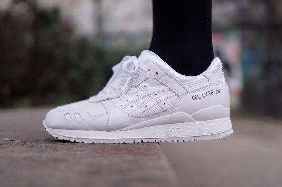 finest selection 850aa 283cd wholesale asics gel lyte iii all white bc1fc 65a18