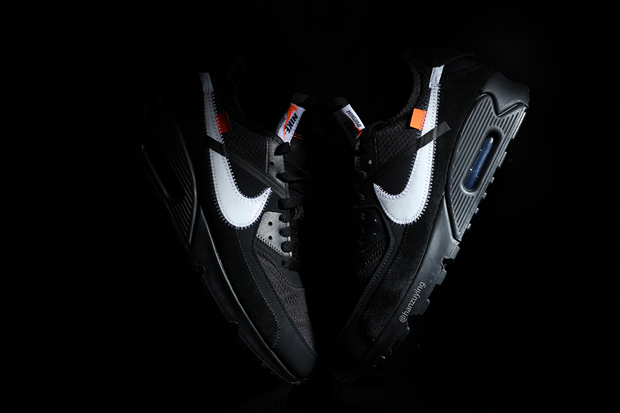 Nike Air Max 90 x OFF-WHITE W Kolorystyce 'Black'