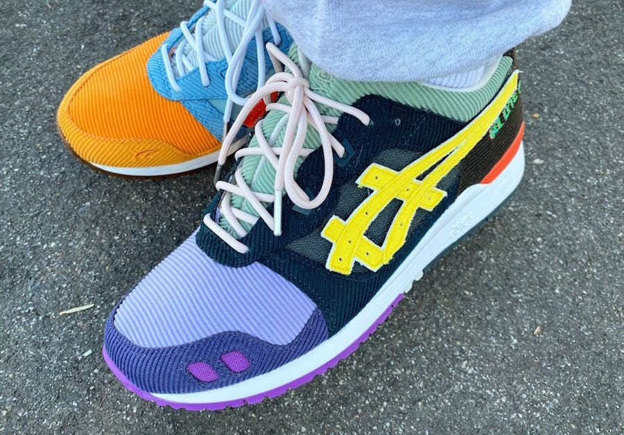 Sean Wotherspoon atmos ASICS GEL Lyte 3 III Release Info