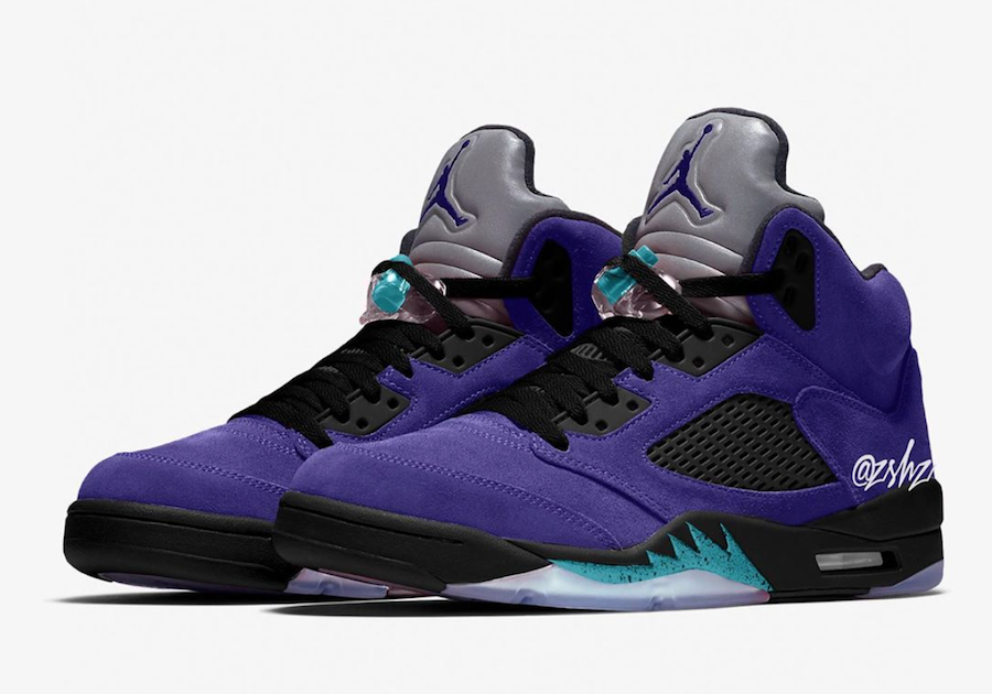 Update: Air Jordan 5 'Alternate Grape'